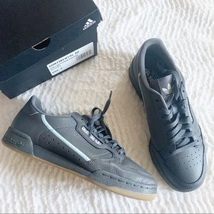 Adidas Continental 80 Grey Mint Leather